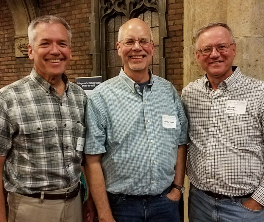 2017 CTA Midwest Regional Conference in Detroit - Conference co-organizers Don Donahue (West Suburban Chicago CTA), Randy Vonck (CTA Washtenaw Area of Michigan), Steve Gardipee (CTA Wisconsin)